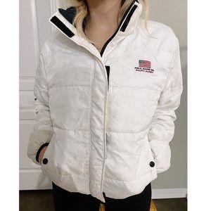 VINTAGE Polo Ralph Lauren bomber puffer jacket
